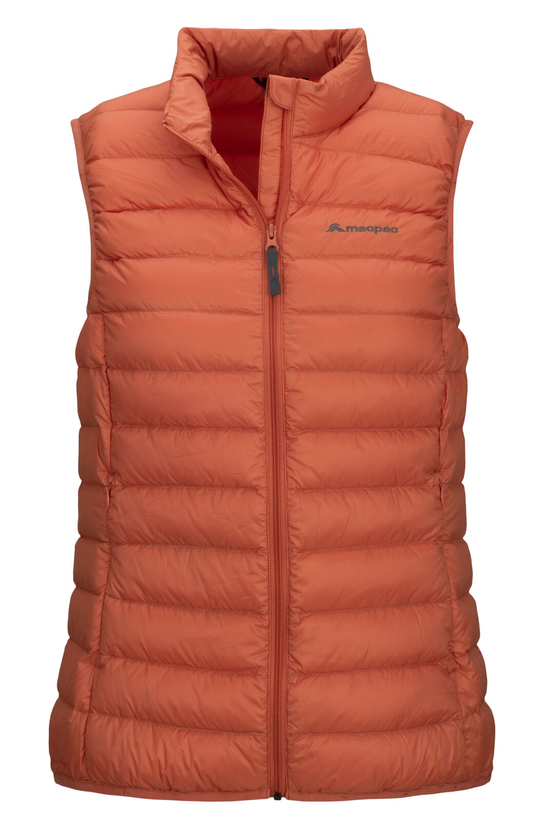 Macpac Women's Uber Light Down Vest, Apricot Brandy, hi-res