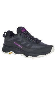 Merrell Women's Moab Speed Vent Hiking Shoes, Black, hi-res