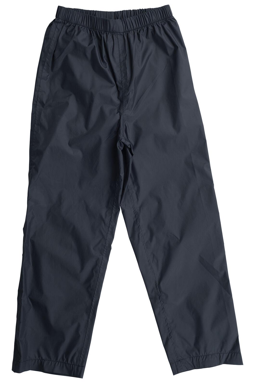 Macpac Kids' Pack-It Pants, Black, hi-res