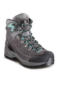 Scarpa Kailash Trek GTX Boots — Women's, Titanium/Smoke/Lagoon, hi-res