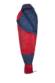Macpac Aspire 270 Sleeping Bag — Kids', Blue Wing Teal/Salsa, hi-res