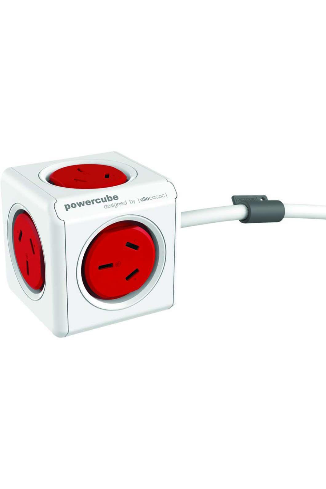 Funtastic Powercube Extended 1m, Red, hi-res