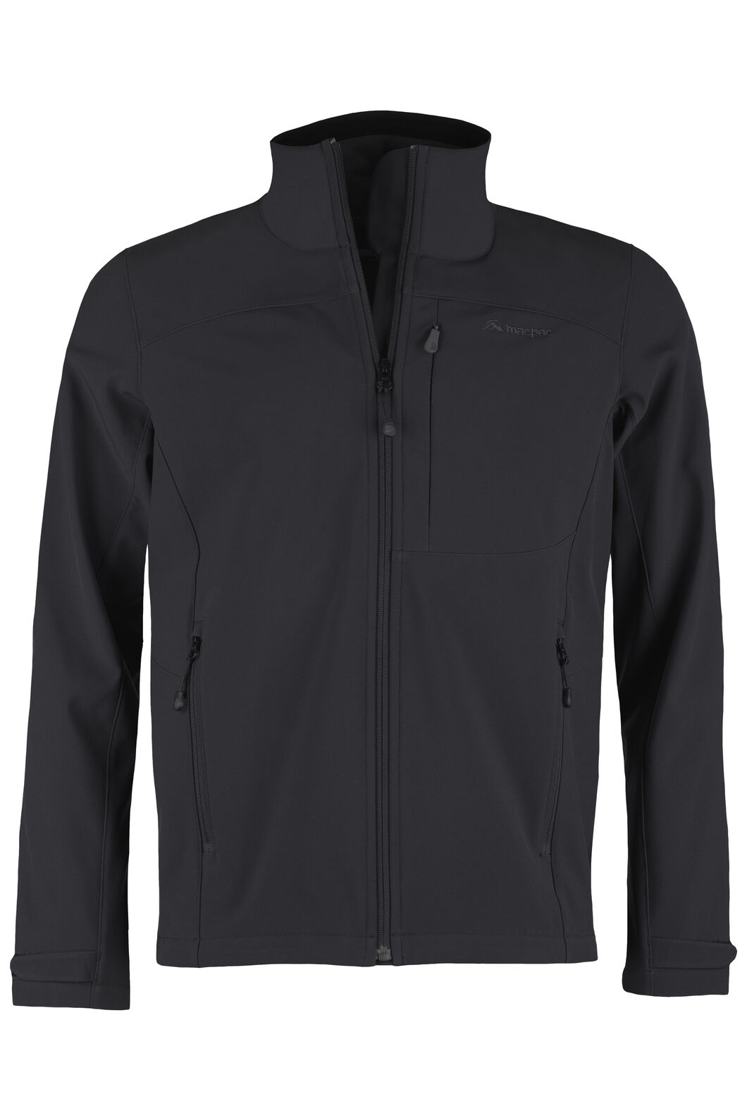 Sabre Softshell Jacket - Men's, Black, hi-res