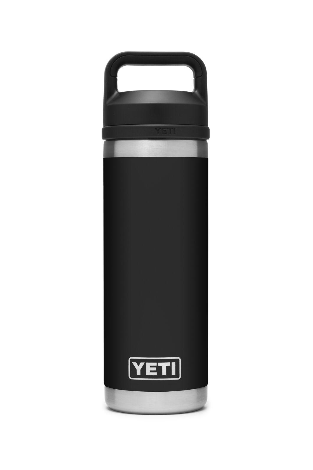 YETI® Rambler Bottle — 18oz, Black, hi-res