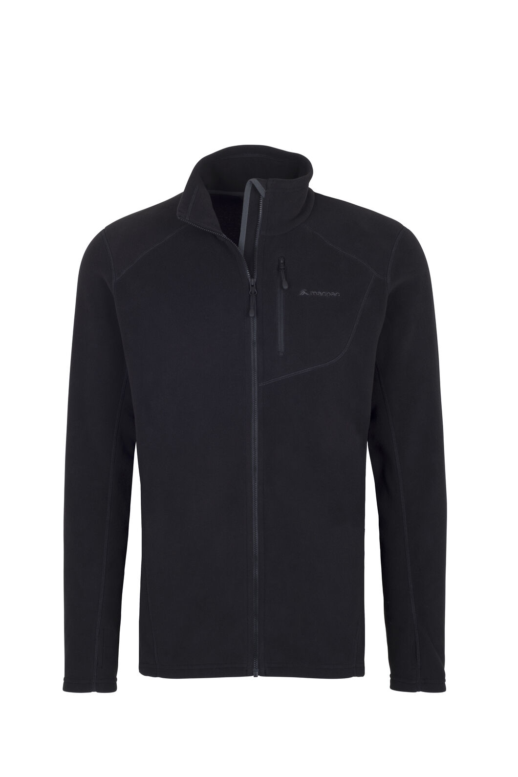 Macpac Kea Polartec® Micro Fleece® Jacket — Men's, Black, hi-res
