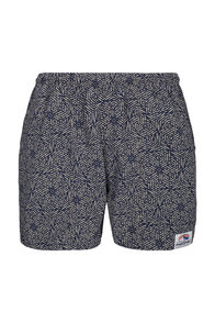 Macpac Men's Winger Shorts, Khaki Print, hi-res