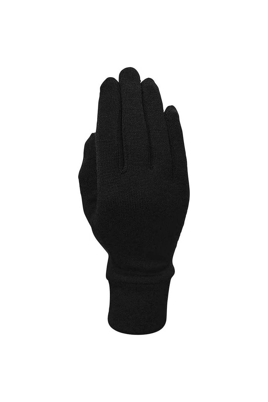 XTM Unisex Merino Gloves, Black, hi-res