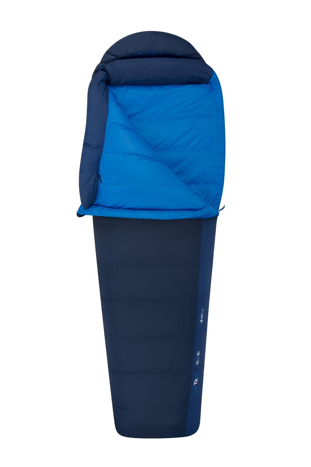 Sea to Summit Trek TKIII Sleeping Bag - Long, Blue, hi-res