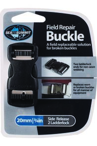 Sea to Summit Field Repair Buckle 20mm Side Release, None, hi-res