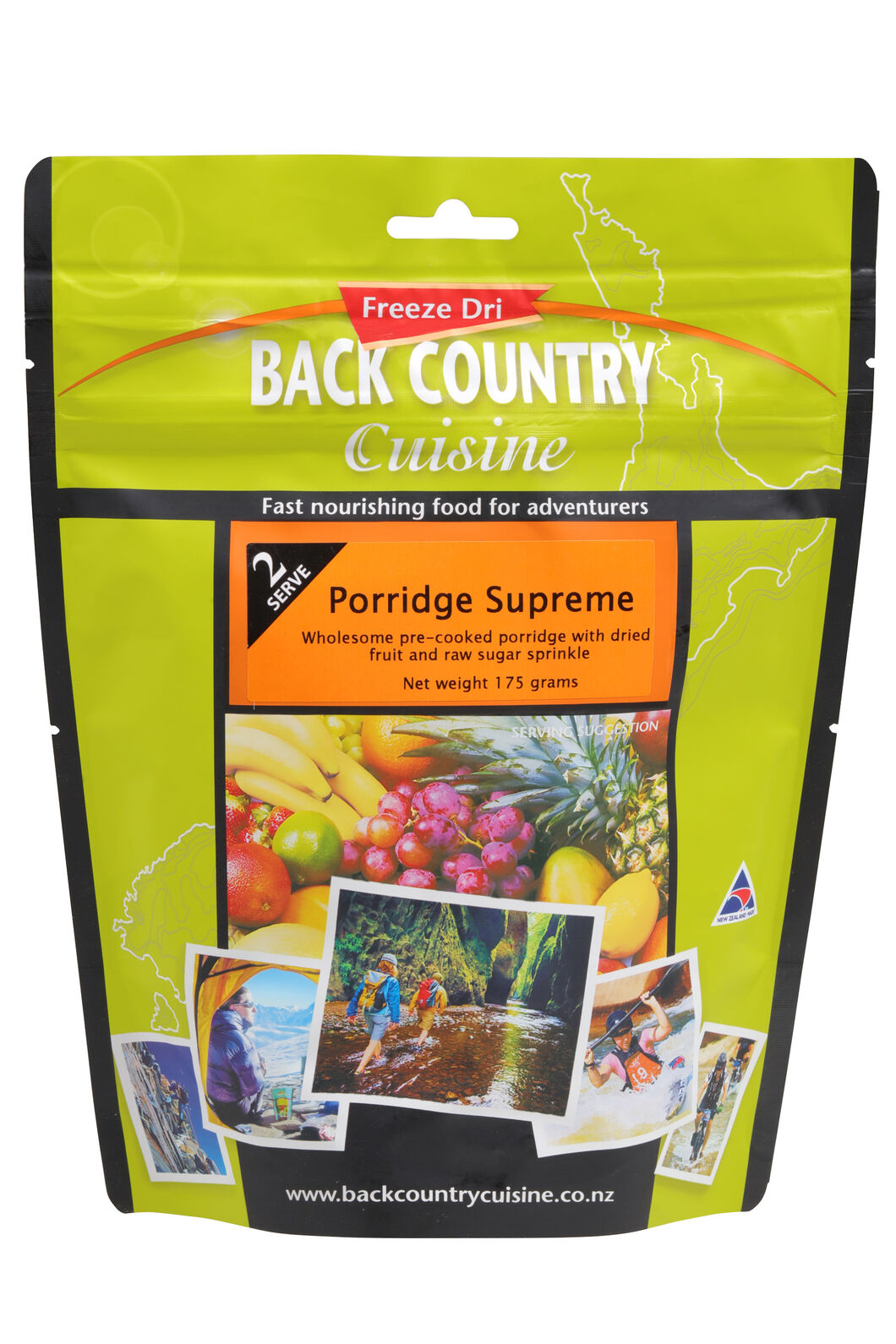 Back Country Porridge Supreme - 2 Serves, None, hi-res