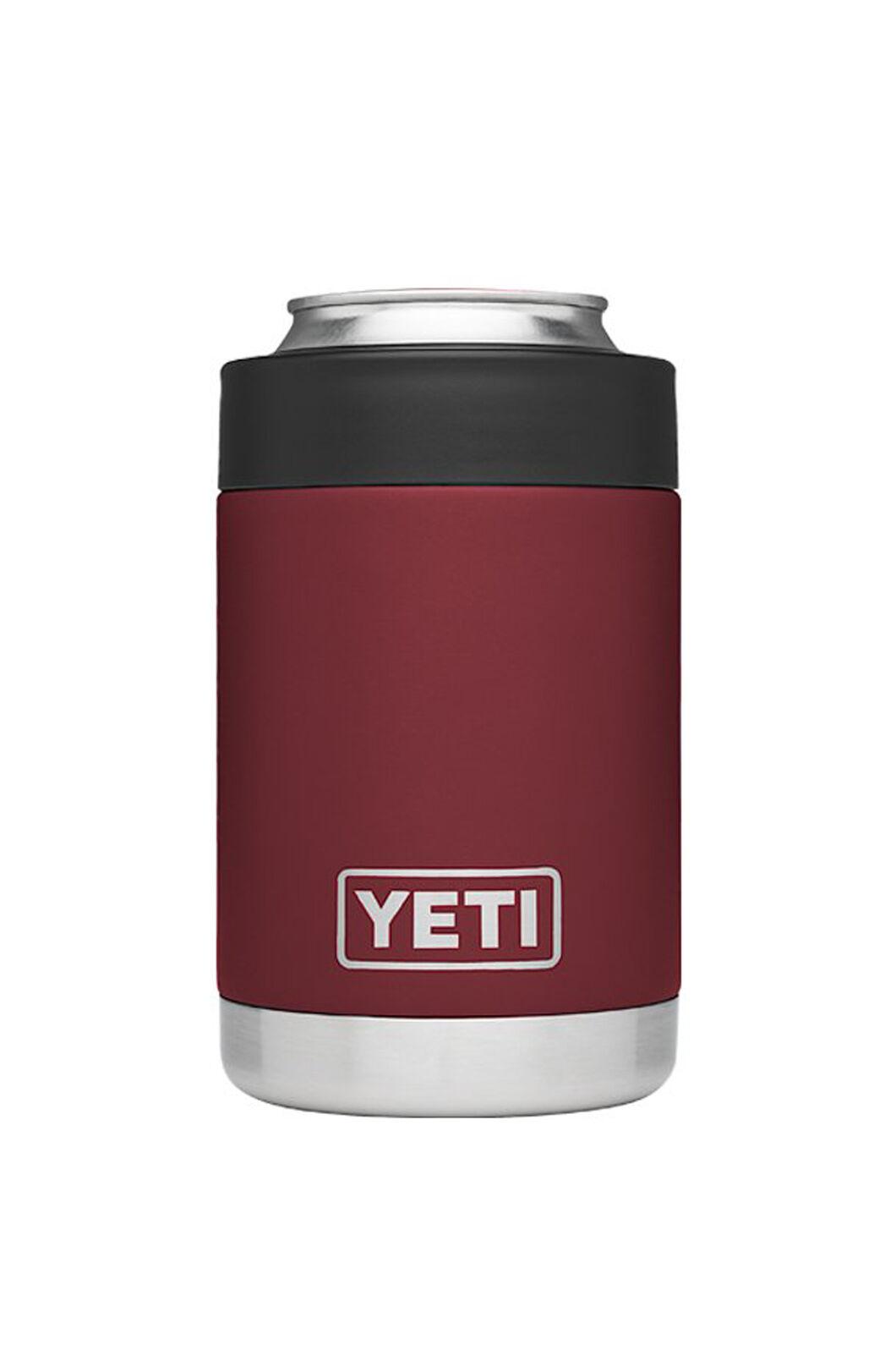 YETI® Rambler Colster Stubby Holder — 12oz, Harvest Red, hi-res