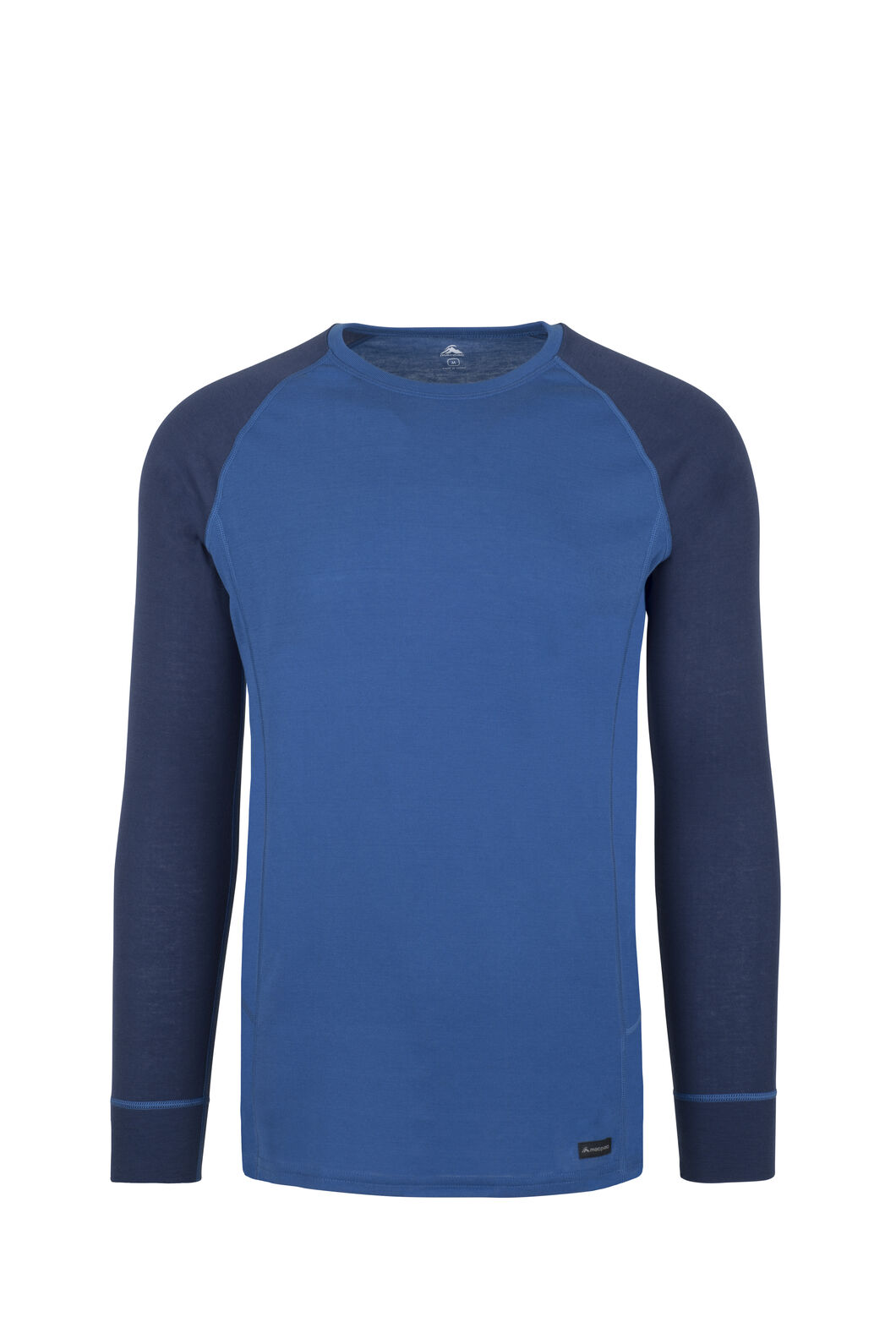 Macpac Geothermal Long Sleeve Top - Men's, True Blue/Medieval, hi-res