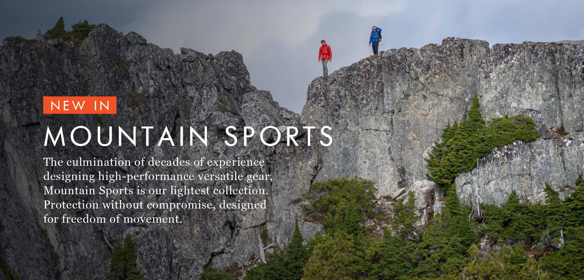New In - Mountain Sports - Protection without compromise, designed for freedom of movement.