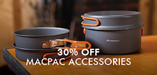 Up to 30% off Selected Shelter