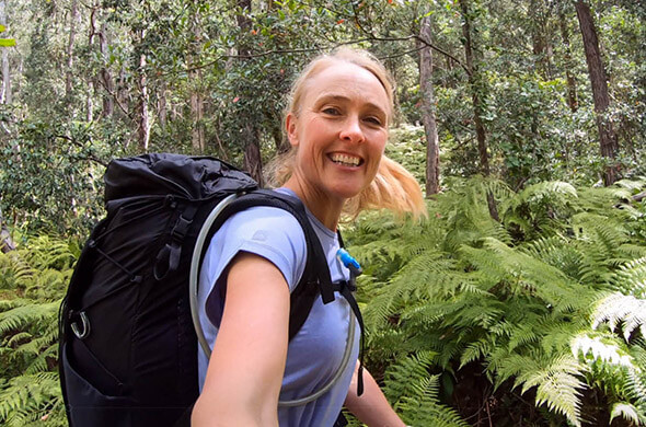 How to pack for an overnight hike in a 40L pack